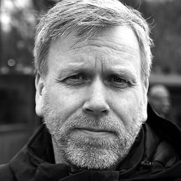Trond Husø Portrait - Black and White
