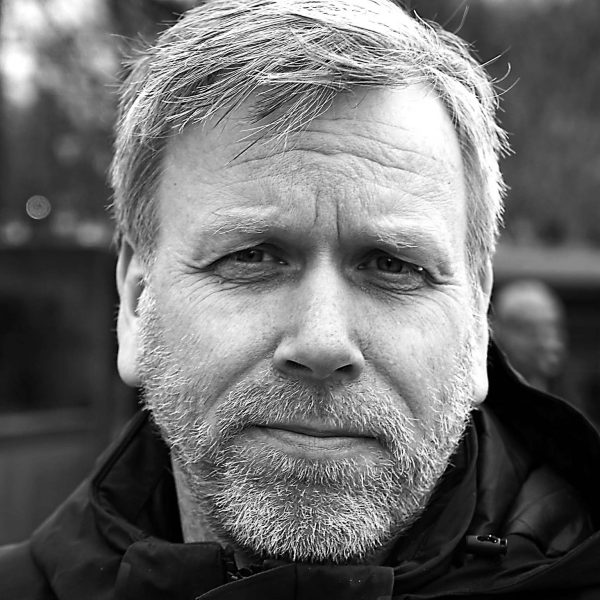 Trond Husø Portrait – Black and White